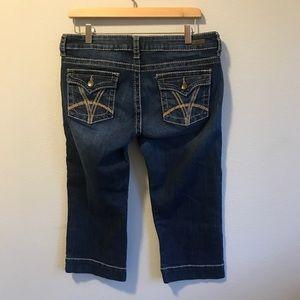Ladies Women's Jeans KUT 10 Capris